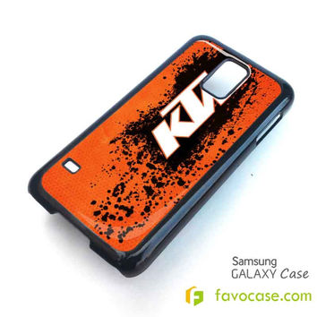 KTM 2 Motorcycle Samsung Galaxy S2 S3 S4 S5, Mini, Note, Tab Case Cover