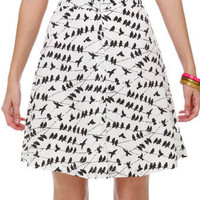 Cute Bird Skirt
