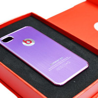 Beats By Dr. Dre iPhone 4/4S Case in Purple - Aluminum Lining
