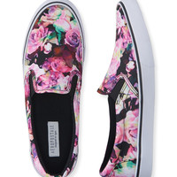 Aeropostale  Rose Slip-On Deck Shoe - Black, 6