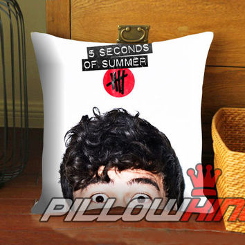 calum 5sos cover - Pillow Case 18 x 18 inch - 1 Side / 2 Side