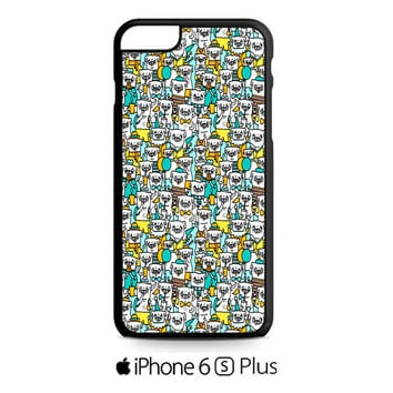Pug Pattern iPhone 6S  Plus  Case