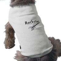 Rcokstar Doggie T Shirt from Zazzle.com