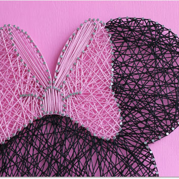 Minnie String Wall Art