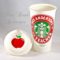 Starbucks Personalized Teacher Mug