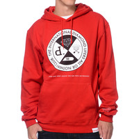 Diamond Supply All Or Nothing Red Pullover Hoodie at Zumiez : PDP