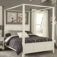 Home Styles Naples Canopy Bed