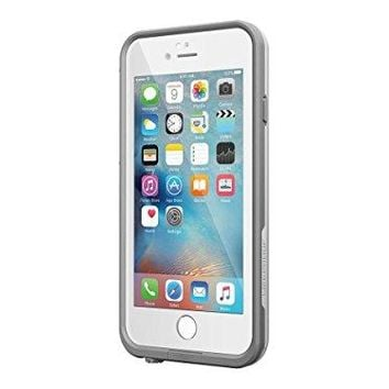 LifeProof 77-52559 Fre Series Waterproof Case iPhone 6 Plus, 6s Plus - Retail Packaging - Avalanche (Bright White/cool Gray)