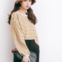 Oversized Stripe Sweater