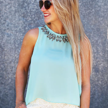 Mint For You Jewel Tank