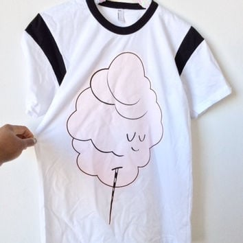 Cotton Candy T-shirt (Adult Unisex)