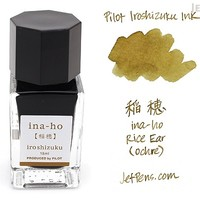 JetPens.com - Pilot Iroshizuku Ina-ho Ink (Rice Ear) - 15 ml Bottle