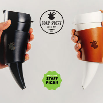 GOAT MUG: original goat story crafted into a coffee mug