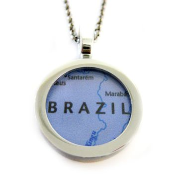Brazil Pendant Necklace