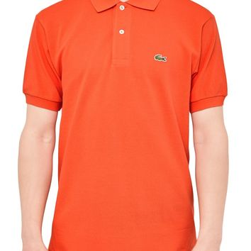 Lacoste L.12.12 Polo Shirt Orange