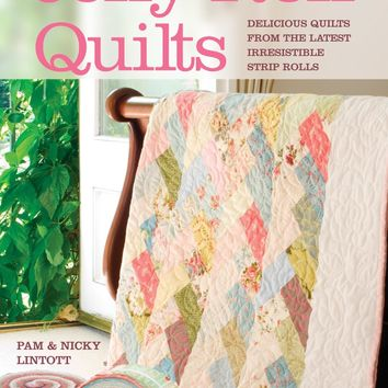 David & Charles Books-Jelly Roll Quilts