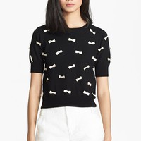 Alice + Olivia Bow Detail Sweater