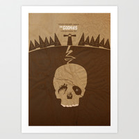 The Goonies Art Print by Tommaso Valsecchi