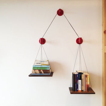 Red Balance Bookshelf (Limited Edition)