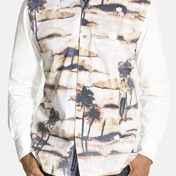 Men's Robert Graham 'Galapagos' Tailored Fit Print Sport Shirt