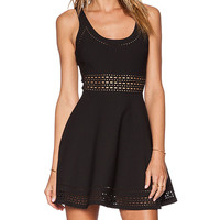 Elizabeth and James Kenton Dress in Black