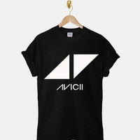 Avicii DTG ScreenPrint 100% pre-shrunk cotton for t shirt mens and t shirt woman at kahitna