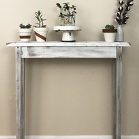 The Sullivan Console Table - Solid Wood Console or Sofa Table