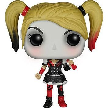 FUNKO POP Batman Arkham Knight Harley Quinn SOFT VINYL BOBBLEHEAD ACTION FIGURE