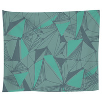 Seamless Geometric Pattern Tapestry