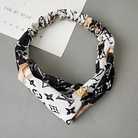 LV Louis Vuitton Sport Headwrap Headband Head Hair Band