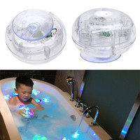 Colorful Bathroom LED Light Toys Baby Kids Funny Bathing Toys Waterproof in Tub