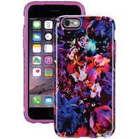 SPECK 73774-C083 iPhone(R) 6/6s CandyShell Inked(R) Case (Lush Floral Pattern/Beaming Orchid Purple)