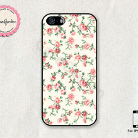 Floral Design iPhone 5 Case, iPhone 5s Case, iPhone Case, iPhone Hard Case, iPhone 5 Cover, iPhone 5s Cover