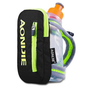 Fitness Running bag AONIJIE Hand Hold the Kettle  250ml Water Bottle with Hold  for Trail  Hiking Marathon Outdoor Sports