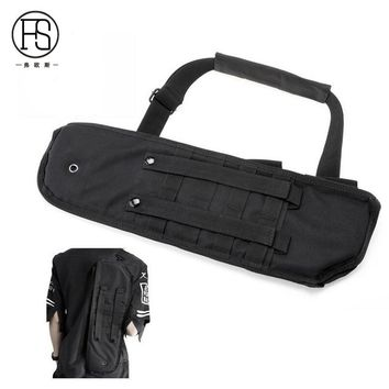 Tactical Scabbard Military holster Assault Shotgun Rifle Hunting Long Sport Bag
