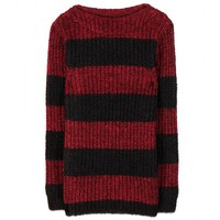 closed - mohair and wool-blend sweater
