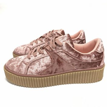 Velvet Creepers-Rose Pink