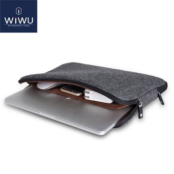 WIWU Top Selling Waterproof Laptop Bag 11 12 13 14 15 15.6 Women Men Notebook Bag Case 14 Laptop Sleeve for MacBook Air 13 Case