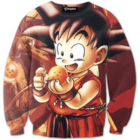 Kid Goku Adventures Crewneck