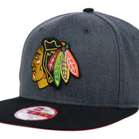 Chicago Blackhawks NHL 2 Tone Action Original Fit 9FIFTY Snapback Cap