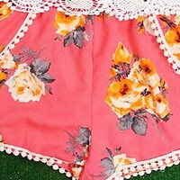 FRESH AIR SHORTS IN CORAL