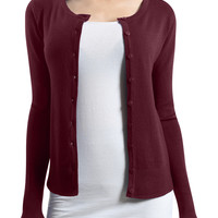 LE3NO Womens Lightweight Long Sleeve Deep V Neck Knit Cardigan (CLEARANCE)