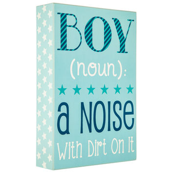 Boy Definition Wall Decor | Hobby Lobby | 5666300