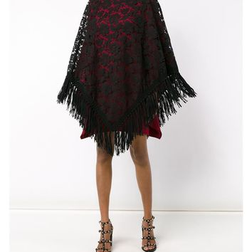 VALENTINO   Lace Poncho   brownsfashion.com   The Finest Edit of Luxury Fashion   Clothes, Shoes, Bags and Accessories for Men & Women