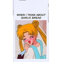 When I think about Garlic Bread Iphone Case