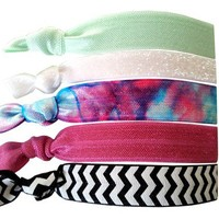 Amoorella | Hair Ties | Clutches | Scarves | Accessories | Galaxy Hair Tie Set