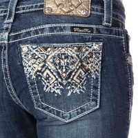 Miss Me Med 240 Santa Fe Boot Cut Jeans