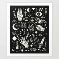 Witchcraft Art Print by LordofMasks