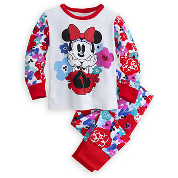 Minnie Mouse Floral PJ PALS for Baby