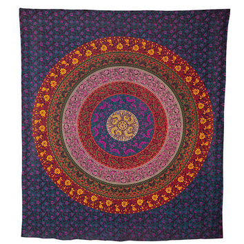 Leya Mandala Tapestry in Large | Tapestries | Dorm Walls | Dorm Essentials | Our Campus Market